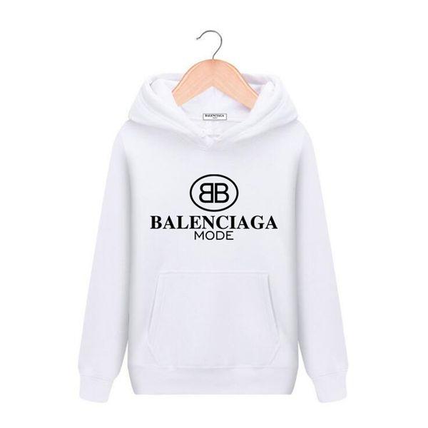 top popular 19SS Brand Womens men Hoodie Designers Pullover hooded 3XL Jacket Luxury girl Paris Streetwear hoodie 3D Printing Sweatshirt Clothing hoodie 2020