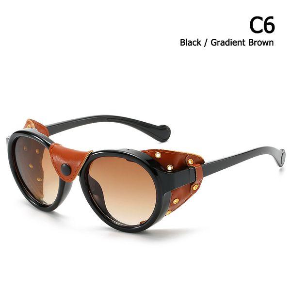 C6 Negro marrón