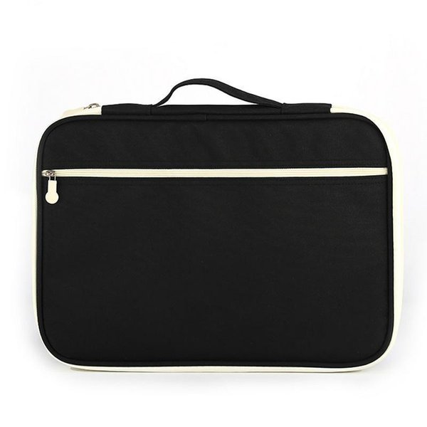 Briefcase Bag For Documents File Folder Hand Waterproof Oxford Cloth Multi Functional A4 Document Large Storage Organizer Bags