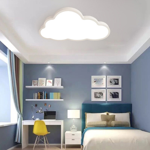 Großhandel Wohnzimmer Schlafzimmer Beleuchtung Led 220 V Kreative Nordic  Stil Wolke Deckenleuchte Ac 185 265 V Fernbedienung Led Deckenleuchten Von  ...