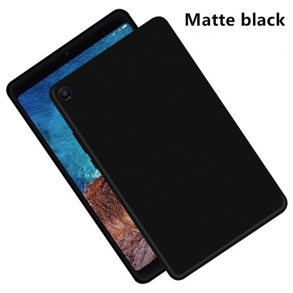 Para xiaomi mi pad 4 mipad 4 plus 2018 macio silicone fosco preto tpu tampa traseira para xiaomi mipad 8.0 10.1 polegada de proteção case