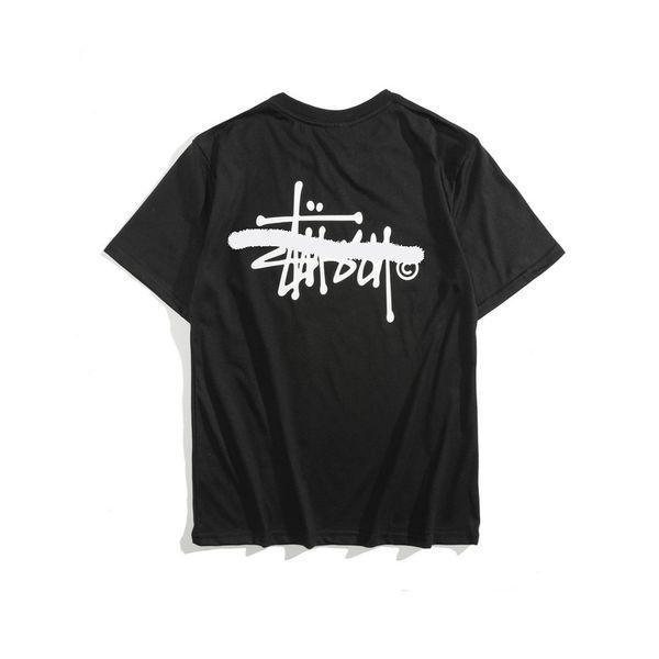 Popular brand men's T shirt high-grade men's wear women's top fashion casual shirt street sports women short sleeve breathable