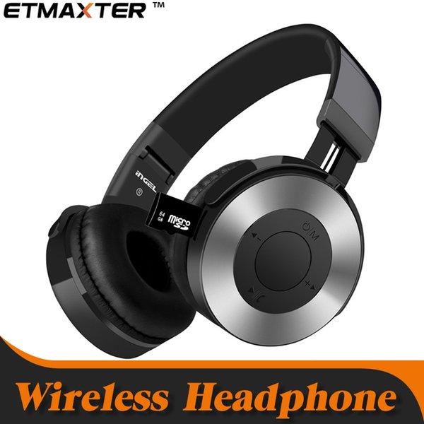 Neue Wireless Gaming Kopfhörer Bluetooth Kopfhörer Stereo Musik Faltbarer Stirnband Bessere Unterstützung TF-Karte Kopfhörer mit Kleinkasten