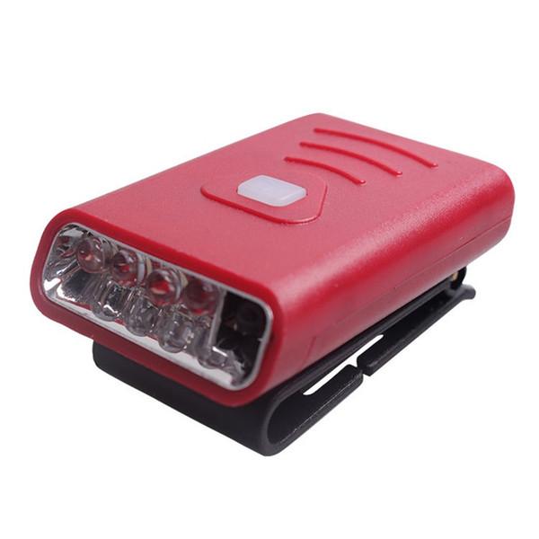 Wave Induction Clip Cap Lamp Led Headlamps Charge Brim Lights Fishing Miner Brim Convenient Flexible Hot Sale 18kyf1