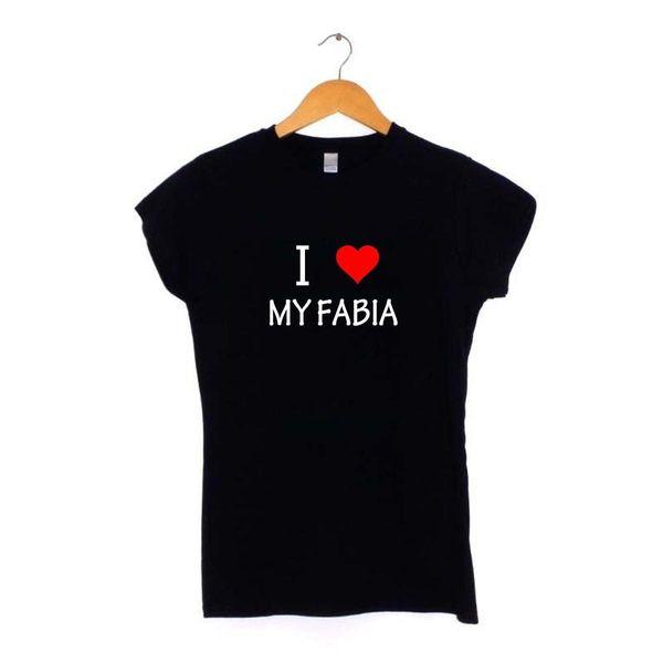 I Love Heart My FABIA T Shirt S-XXL SKODA owners Mens Womens Gift