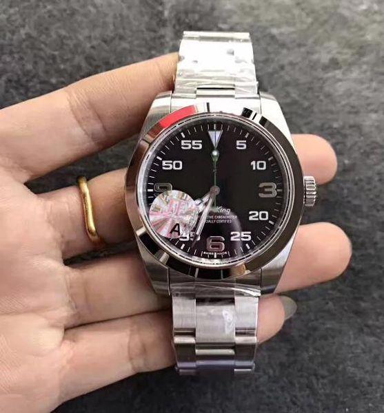 2020 New Hot Watch Factory 39 мм 116900 904L Нержавеющая Сталь CAL.3131 Механические Механические Автоматические Мужские Часы