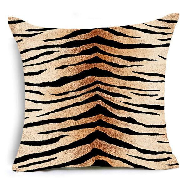 45x45cm único lado-Animal Leopard 07