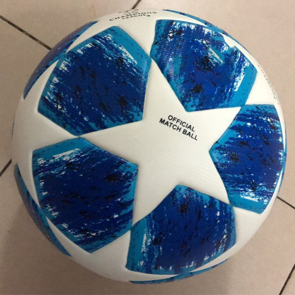 best selling 2018 Professional Match Football Official Size 4 Size 5 Soccer Ball PU Premier Football Sports Training Ball voetbal futbol bola