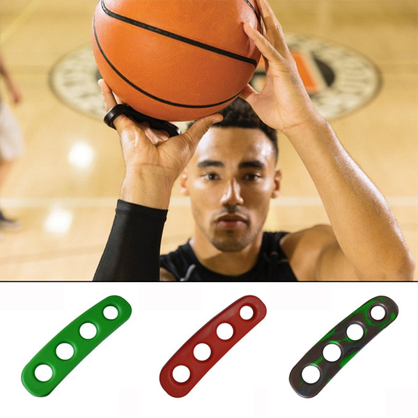 1pcs 3 Colors Silicone Shot Lock Basketball Ball Shooting Trainer Training Accessories Three-Point Size for Kids Adult Man Teens #15201