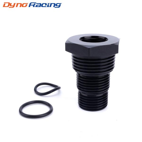 best selling Universal Aluminum Black Automotive Threaded Oil Filter Adapter 5 8-24 to 3 4-16 13 16-16 3 4NPT Car Nut TT101282