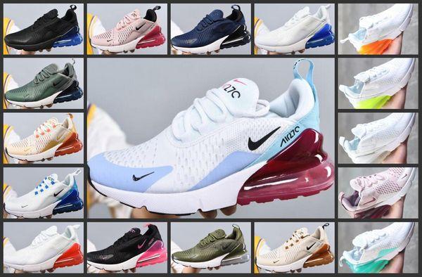 2019 Nouveau Top 270 Max Coussin Sneaker Chaussures Femme Casual 27c Entraîneur Off Road étoiles fer Sprite tomate Hommes Femmes 270S Sneakers Taille 36-45