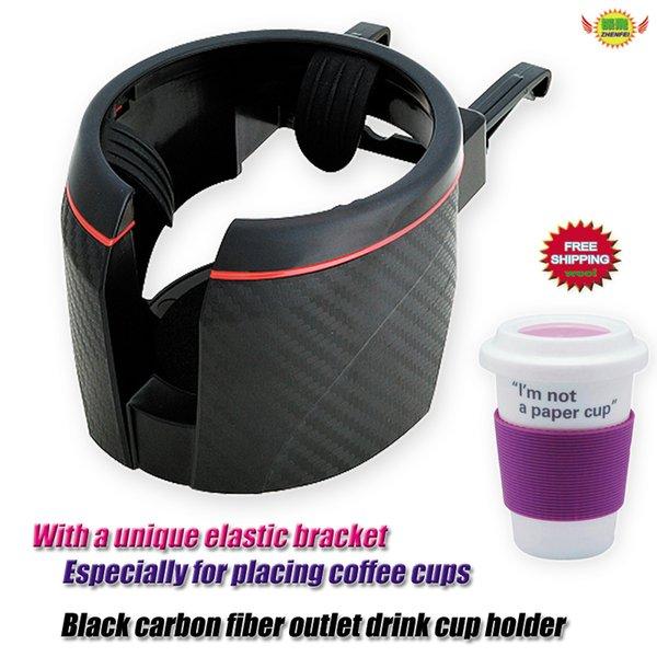 Soporte para bebidas adecuado para todos los vehículos negro envío rápido dhl nuevo