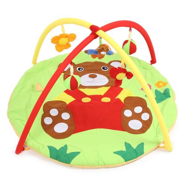 Bear Baby Play Mat 0-12 Months Bebe Educational Toy Game Tapete Infant Crawling Play Gym Kids Puzzle Mat Cartoon Blanket Carpet VB