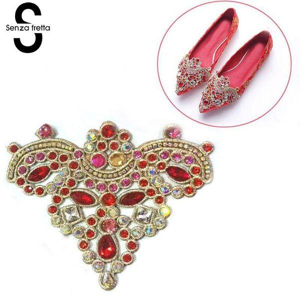 1PC Women Shoes Decoration Clips Elegant Crystal Shoes Buckle Bridal Decor UK