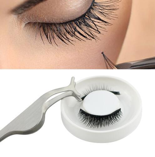 Magnetic eyelashes with Tweezer magnets handmade 3D/6D magnetic lashes natural false eyelashes magnet lashes with gift box