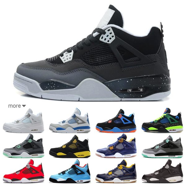 8428b66cb56369 Hot retro mens fashion designer outdoor shoes sneakers 4s 6s chaussures 4 6  white black red