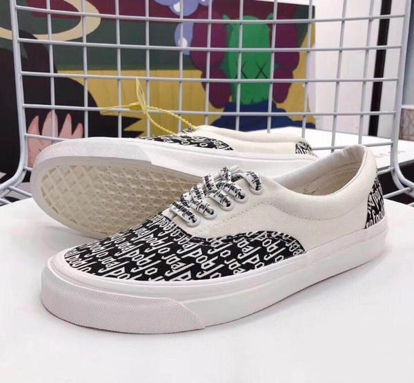 Fear Of God X Men Women Casual Shoes Era 95 Revenge X Storm Old Skool Canvas Vetements VisVim Skateboarding Slip On FOG Sports Sneakers Mens Boots