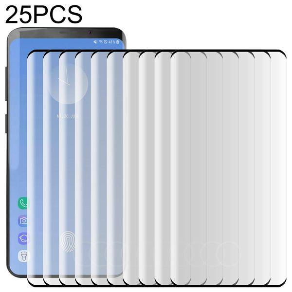 25 PCS For Galaxy S10 Plus 0.3mm 9H 3D F