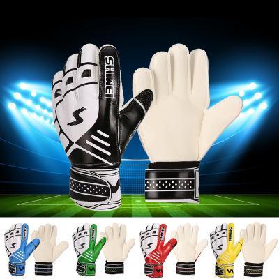 Homogeneous football Sweet Old Bone Gatekeeper Gloves High-end latex gloves Adult non-skid goalkeeper gloves