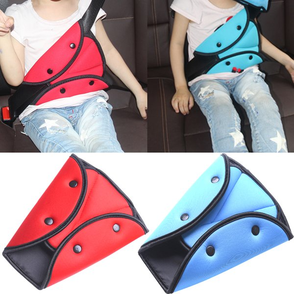 Car Safe Seat Belt Adjuster Car Safety Belt Adjust Device Triangle Baby Child Protection Baby Safety Protector Accessories