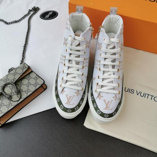 2019 женщин высокого качества, новые ботинки, роскошные весной и осенью на открытом воздухе путешествие женщин кружева оригинальная коробка упаковки быстрая доставка