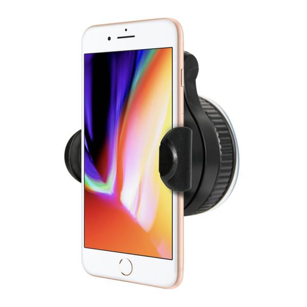 360 grados de ajuste samrtphoe mount Soporte universal para teléfono para coche protege el ángulo del interruptor de la ventana del teléfono libremente soporte del teléfono