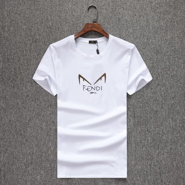 # 2937 hommes d'été T-shirt Lettre Mode Noir Blanc T-shirts Hommes manches courtes luxe décontracté T-shirt Homme T-shirts Rue Tops imprimés