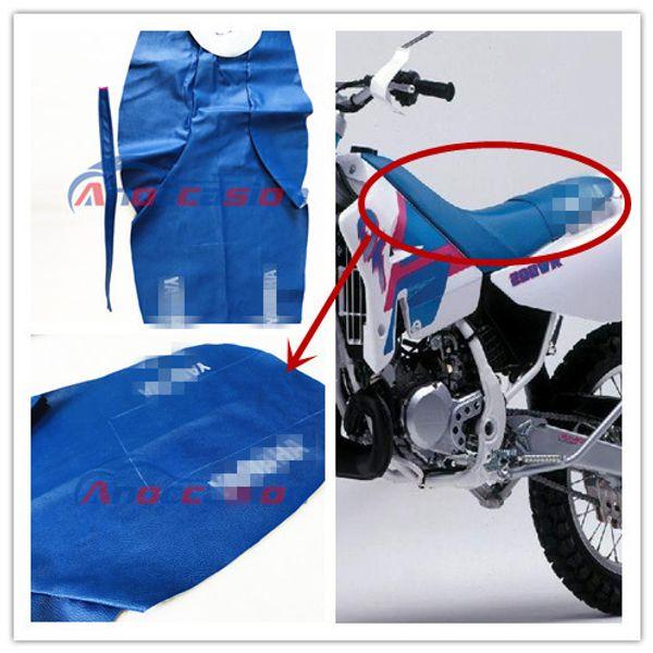 Accesorios de motocicleta Para usar para el asiento de cuero Yamaha DT200WR Asiento de cuero