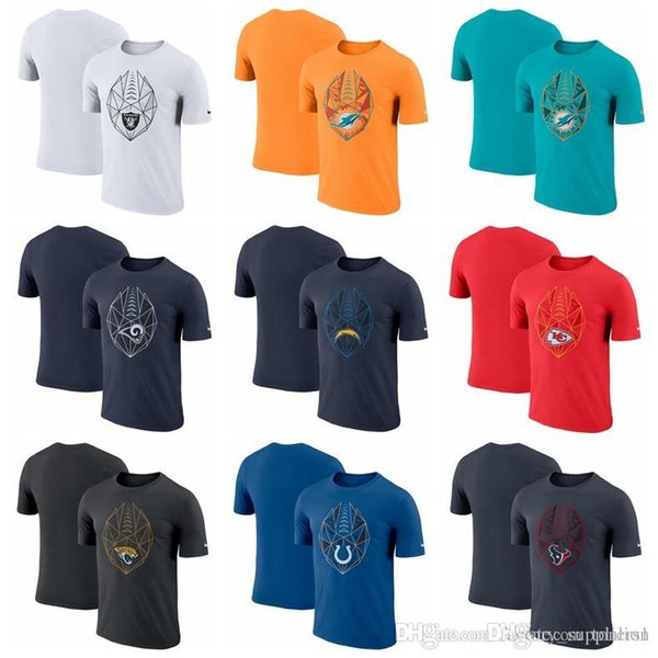 big sale 6cd00 5bb3b 2019 Mens T Shirts Fan Gear Icon Performance T Shirt Houston Texans  Indianapolis Colts Jaguars Kansas City Chiefs Chargers Rams Dolphins From  ...