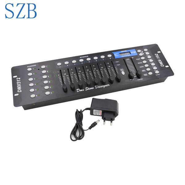 192 DMX Controller DMX512 Console Contrôleur DJ Contrôleur d'éclairage pour équipements d'éclairage de scène / SZB-DISCO192
