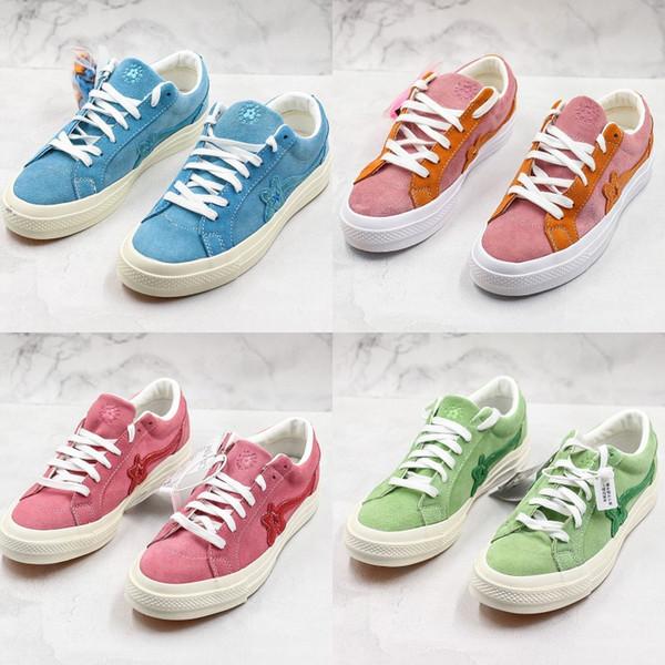 Criador x Uma Estrela Boi Le Golf Fleur TTC Jolly Hip Hop Sneaker Trainer Sapatas de Lona Para Mulheres Homens Sapatos de Skate Com Caixa