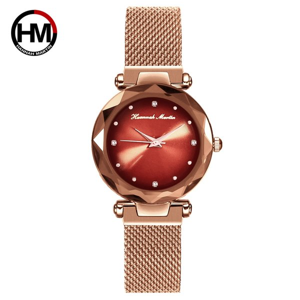 Gold-Red Dial