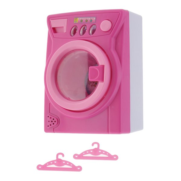 top popular Pretend Play Accessory Toy Set For Kids, Girls, Boys Gifts Washing Machine 2021