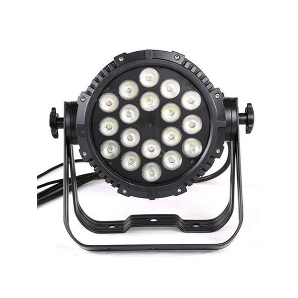 18 Led 10W RGBW 4IN1 Luz de escenario de zoom impermeable al aire libre LED Par luz de par par luz led