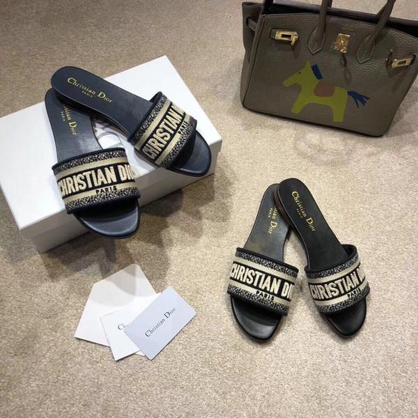 229 moda estiva europea e americana è cool fondo pantofola fondo è trascinato mostra toe per trascinare