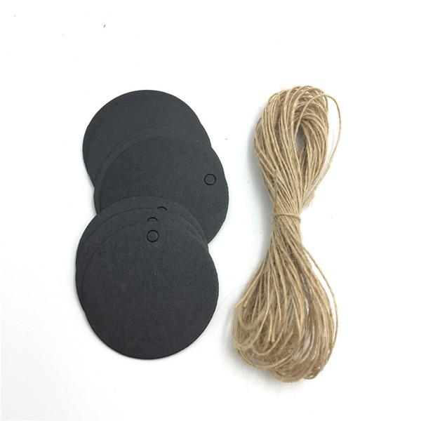 schwarz mit 10m Seil