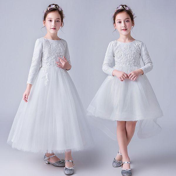 Acheter Robe De Tutu Pour Filles De 4 à 14 Ans Vêtements De Fête Mariage En Tulle Pour Enfants Vêtements De Boutique Pour Adolescent R1am710ds 17