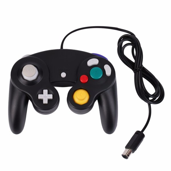 Gamepads New Game Controller Gamepad Joystick five color for Nintendo for GameCube For Wii Wholesale