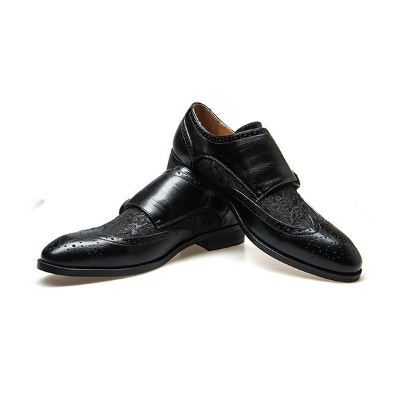 2019 uomini in pelle di serpente scarpe oxford lace up casual uomini d'affari scarpe a punta degli uomini di marca da sposa