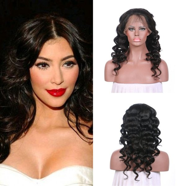 130% Density Loose Wave Lace Front Wig With Baby Hair 8-30 Inch Natural Color For Black Women Free Shipping LaurieJ Hair