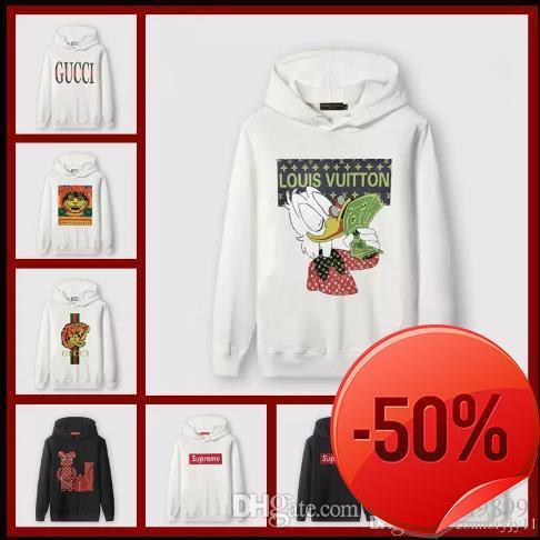 6e74ecaf071 18ss Luxury Brand Designer Hoodies For Men Italy Fashion Tiger Print Men s  Hoodies   Sweatshirts Mens Jackets Size M-5xl