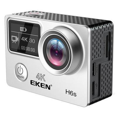 Caméra d'origine EKEN H6S action 4K Ultra HD 30fps HD 2 pouces écran Caméra Action Sports à l'intérieur 30m étanche caméra DV ACTION