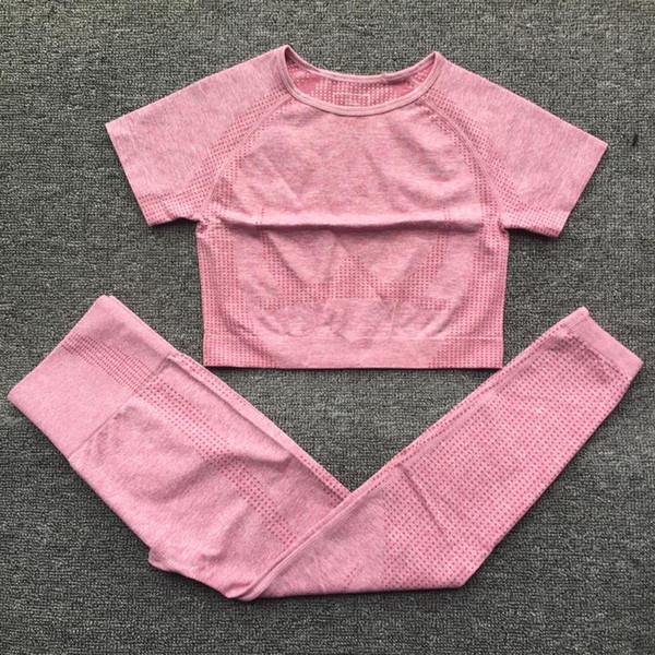 Pink Top Leggings