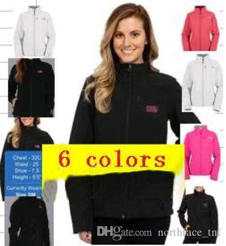New Brand Womens Fleece Apex Bionic SoftShell Jackets Outdoor Windproof and Waterproof Breathable Ladies Hoodies & Sweatshirts