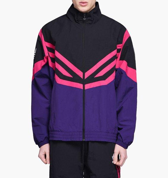 Chaqueta para hombre del diseñador de lujo rompevientos Sport Marca Sportwear con la letra fina capa estilo de la calle B100458X