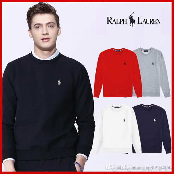 Autumn winter foreign trade Europe and the United States new men's clothing cotton fabric round collar head printed men long sleeve clo