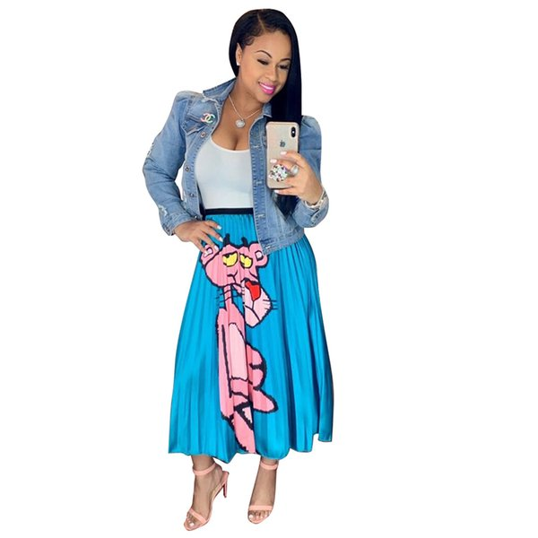 New African Women's Dashiki Traditional Classic printing Clothing stretch Pleated skirt Just a piece size S M L XL XXL TS603
