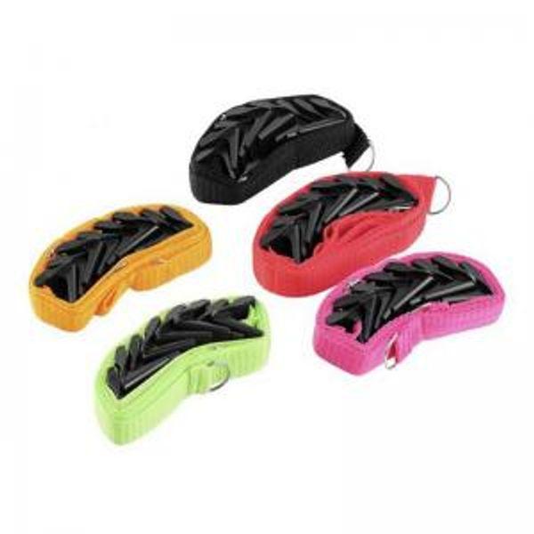 Adjustable Door Strap High strength Adjustable Seamless Door Hook Hat Bag Storage Rope Hook 5 colors WWA93