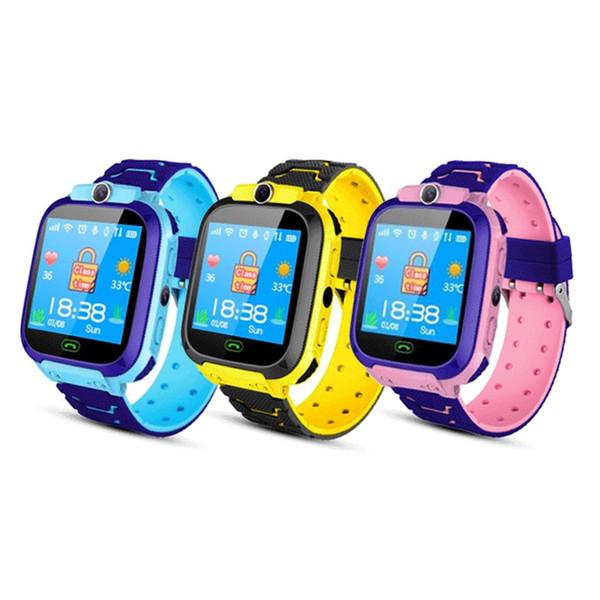 Smart Kids Montre écran tactile sports Smartwatch téléphone avec appel Jeux Caméra Enregistreur d'alarme Lecteur de musique pour les enfants adolescents étudiants Âge 3-12
