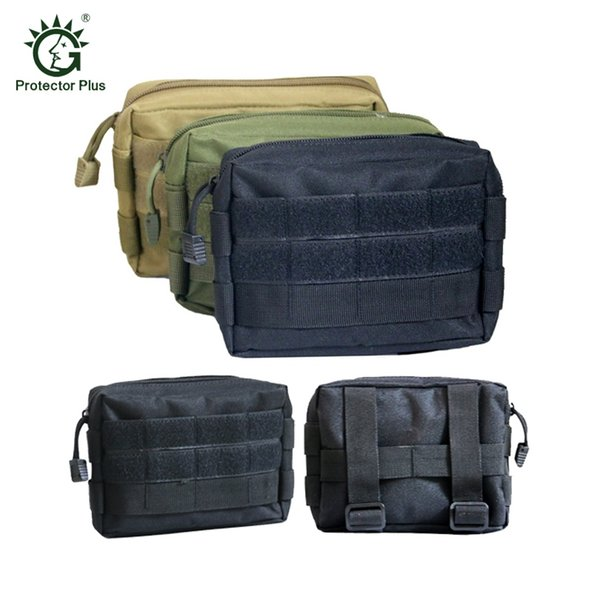Airsoft Tactical Bag 600D Nylon EDC Bag Military MOLLE Small Utility Pouch Waterproof Magazine Outdoor Hunting Bags Waist #288196